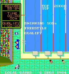 Water Match (ARC)  © Sega 1984   2/4