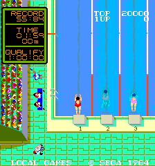 Water Match (ARC)  © Sega 1984   4/4