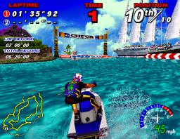 Wave Runner (ARC)  © Sega 1996   2/3