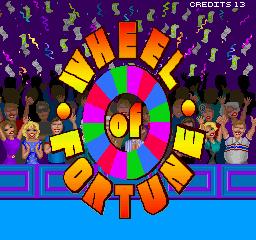 Wheel Of Fortune (ARC)  © GameTek 1989   1/3