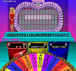 Wheel Of Fortune (ARC)  © GameTek 1989   2/3