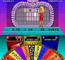 Wheel Of Fortune (ARC)  © GameTek 1989   3/3