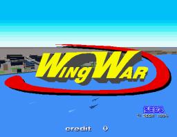 WingWar (ARC)  © Sega 1994   1/5
