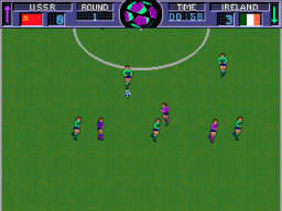 World Soccer Finals (ARC)  © Leland 1990   3/3
