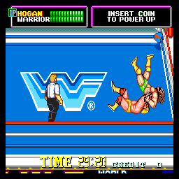 WWF Superstars (ARC)  © Technos 1989   3/4