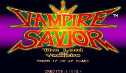 Vampire Savior: The Lord Of Vampire (ARC)  © Capcom 1997   1/3