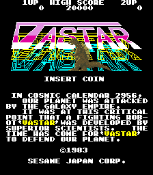 Vastar (ARC)  © Orca 1983   1/3