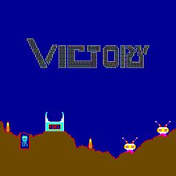 Victory (ARC)  © Exidy 1982   1/3