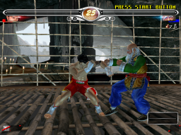 Virtua Fighter 4 Evolution (ARC)   © Sega 2002    3/4