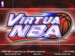 Virtua NBA (ARC)   © Sega 2000    1/3