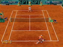 Virtua Tennis (ARC)  © Sega 1999   2/4