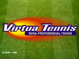 Virtua Tennis (ARC)  © Sega 1999   1/4