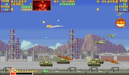 U.N. Squadron (ARC)  © Capcom 1989   2/4
