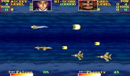 U.N. Squadron (ARC)  © Capcom 1989   3/4