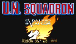 U.N. Squadron (ARC)  © Capcom 1989   1/4