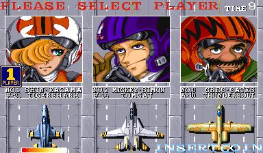 U.N. Squadron (ARC)  © Capcom 1989   4/4