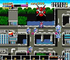Ufo Senshi Yohko Chan (ARC)  © Sega 1988   2/4