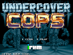Undercover Cops (ARC)  © Irem 1992   1/6