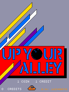 Up Your Alley (ARC)  © Leland 1987   1/3