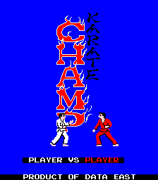 Karate Champ: Player Vs. Player (ARC)   © Data East 1984    1/3
