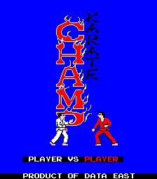 Karate Champ: Player Vs. Player (ARC)  © Data East 1984   1/3