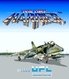 Task Force Harrier (ARC)  © UPL 1989   1/4