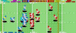 Tecmo Bowl (ARC)  © Tecmo 1987   2/3