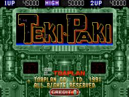 Teki Paki (ARC)  © Toaplan 1991   1/3