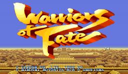 Warriors Of Fate (ARC)  © Capcom 1992   1/10