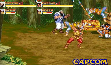 Warriors Of Fate (ARC)  © Capcom 1992   10/10