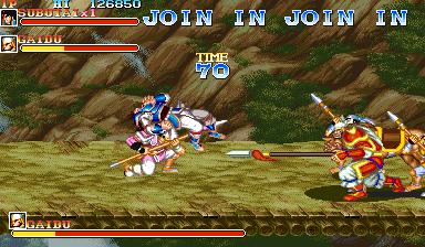 Warriors Of Fate (ARC)  © Capcom 1992   4/10