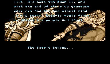 Warriors Of Fate (ARC)  © Capcom 1992   5/10