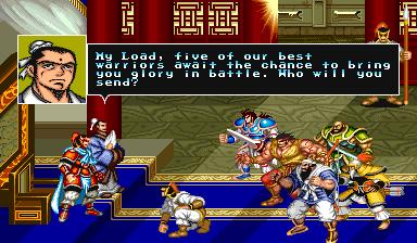 Warriors Of Fate (ARC)  © Capcom 1992   6/10