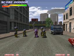 Teraburst (ARC)  © Konami 1998   1/1