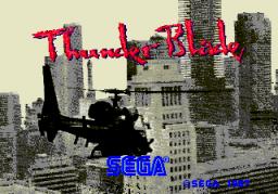 Thunder Blade (ARC)  © Sega 1987   1/5