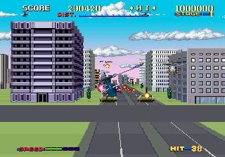Thunder Blade (ARC)  © Sega 1987   5/5