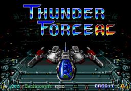 Thunder Force AC (ARC)  © Sega 1990   1/5