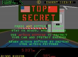Top Secret (ARC)  © Exidy 1986   1/3