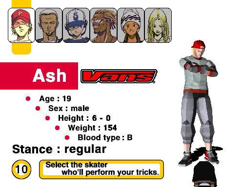 Top Skater (ARC)  © Sega 1997   4/4