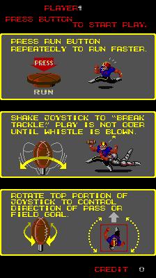 Touchdown Fever II (ARC)  © SNK 1988   3/3