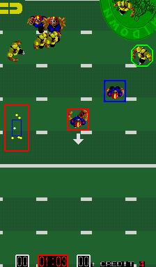 Touchdown Fever II (ARC)  © SNK 1988   2/3