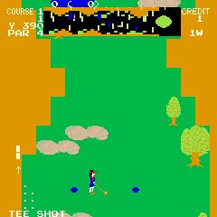 Tournament Pro Golf (ARC)  © Data East 1981   3/3
