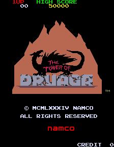 The Tower Of Druaga (ARC)  © Namco 1984   1/3