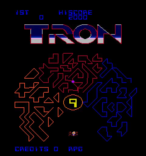 Tron (ARC)  © Bally Midway 1982   4/5