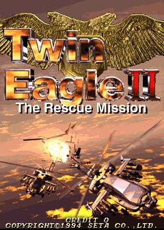 Twin Eagle II (ARC)  © SETA 1994   1/3