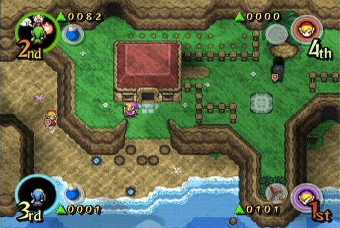 The Legend Of Zelda: Four Swords Adventures (GCN)  © Nintendo 2004   4/8