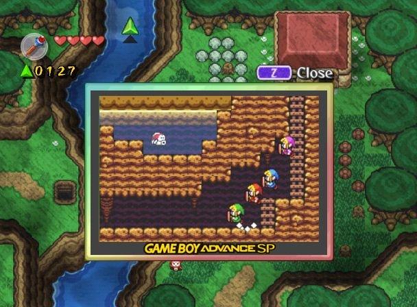 The Legend Of Zelda: Four Swords Adventures (GCN)  © Nintendo 2004   5/8
