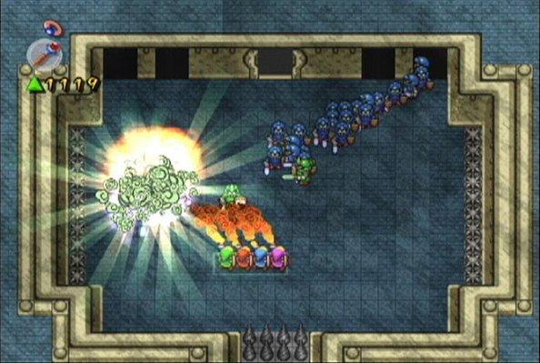 The Legend Of Zelda: Four Swords Adventures (GCN)  © Nintendo 2004   6/8