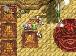 The Legend Of Zelda: Four Swords Adventures (GCN)  © Nintendo 2004   3/8