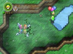 The Legend Of Zelda: Four Swords Adventures (GCN)  © Nintendo 2004   1/8